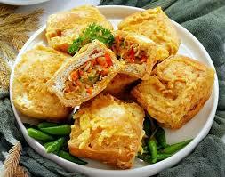Resep Tahu Berontak Tahu Isi Daging Ayam Cincang
